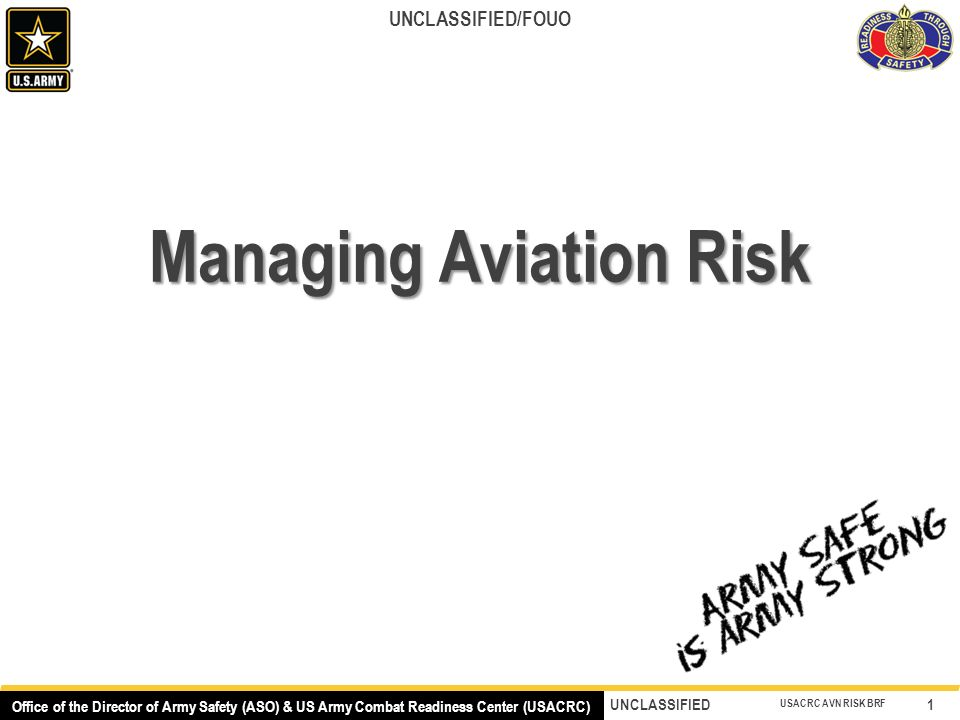 Army Risk Assessment Worksheet Example - The Best and Most ...