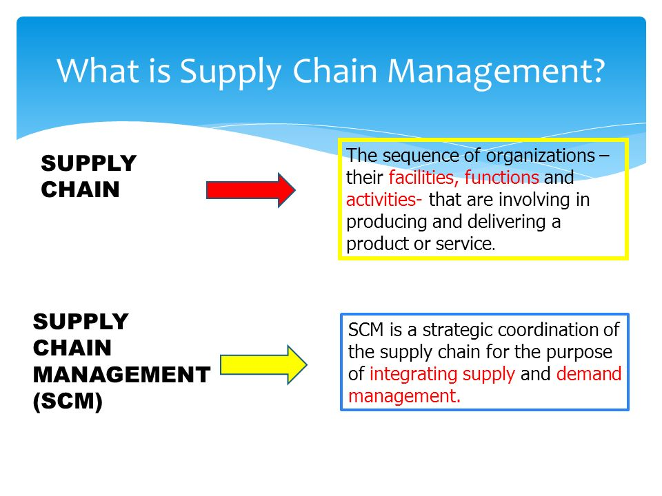 statement of purpose supply chain management Supply chain management is a balance among a number of different areas a supply chain manager needs to have a broad understanding of people, materials, finance and information to effectively get the job done.