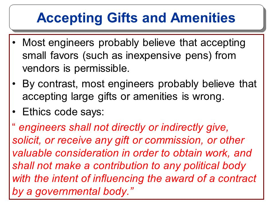 ethics in chemical engineering che 470 dr  sepideh faraji