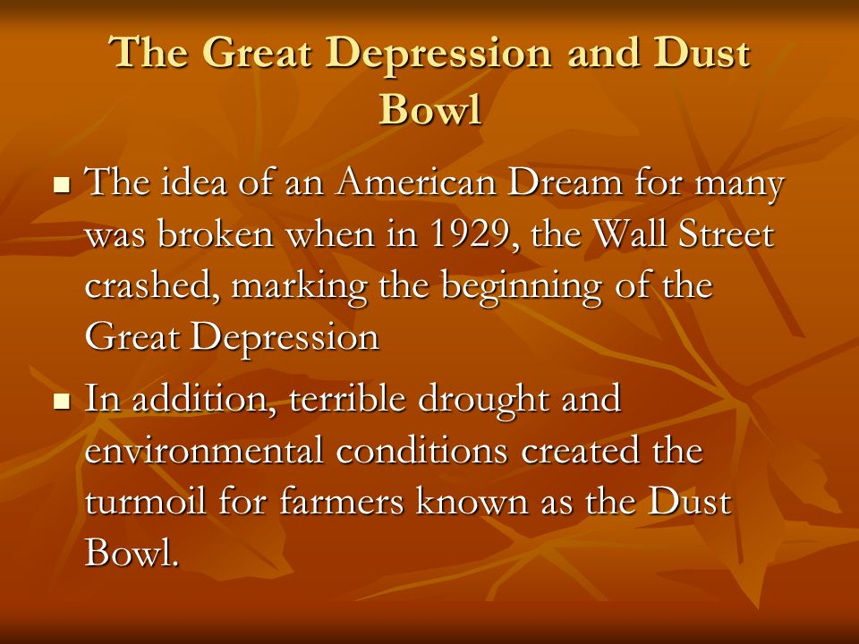 the many factors that contributed to the start of the great depression in america in 1929 The great depression indeed wasn't caused by the wall street crash of 1929 though there is so much state propaganda in newspapers and so little real news that it is questionable whether they are worth reading at all economics happens in cycles that's why there are so many similarities to the past.