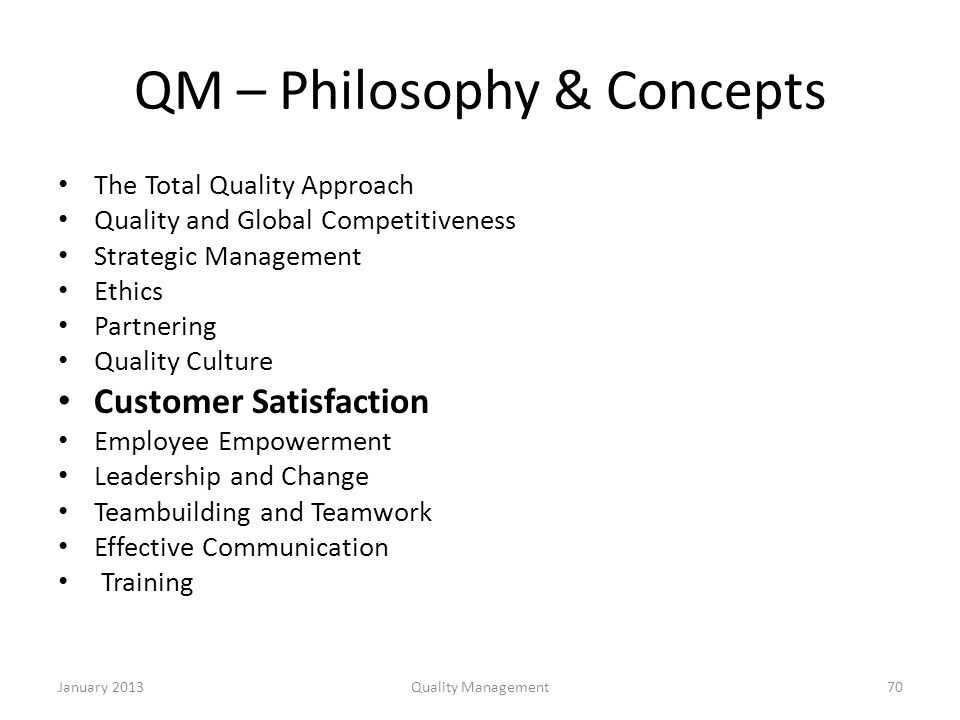 strategic quality management and customer satisfaction essay In the file mgt 449 week 3 team assignment strategic quality management and customer satisfaction paper you can find overview of the following parts: 1 introduction 2.