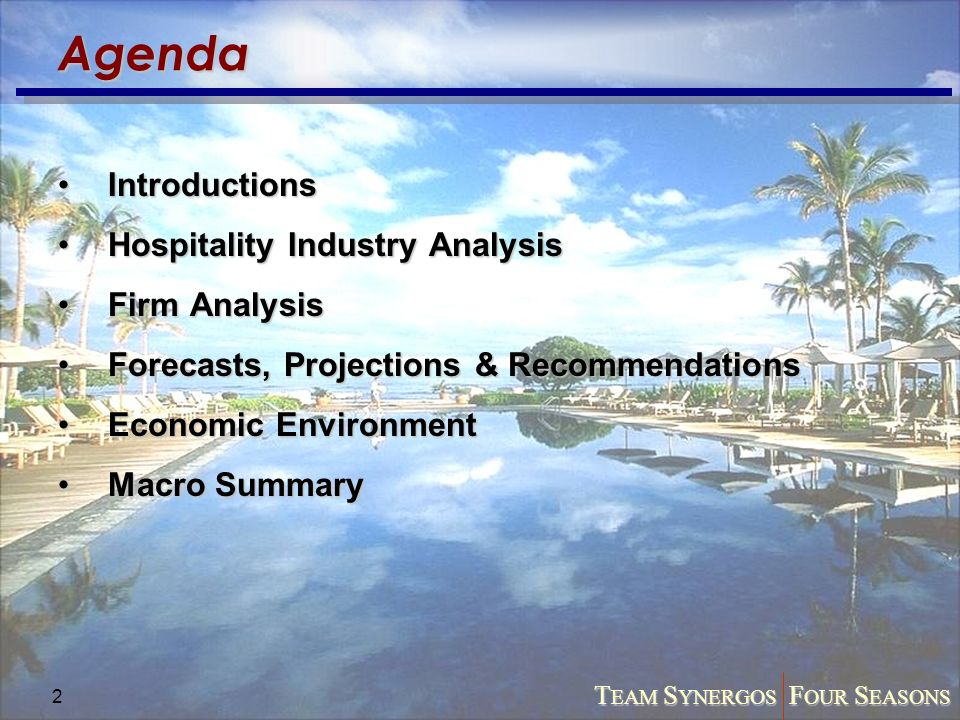 hotel industry macro environmental and structural analysis tourism essay Marketing of tourism industry in fiji, a small island country of south pacific region analysis of political environment in fiji reveals the proliferation of malicious groups and political unrest in the country has affected.