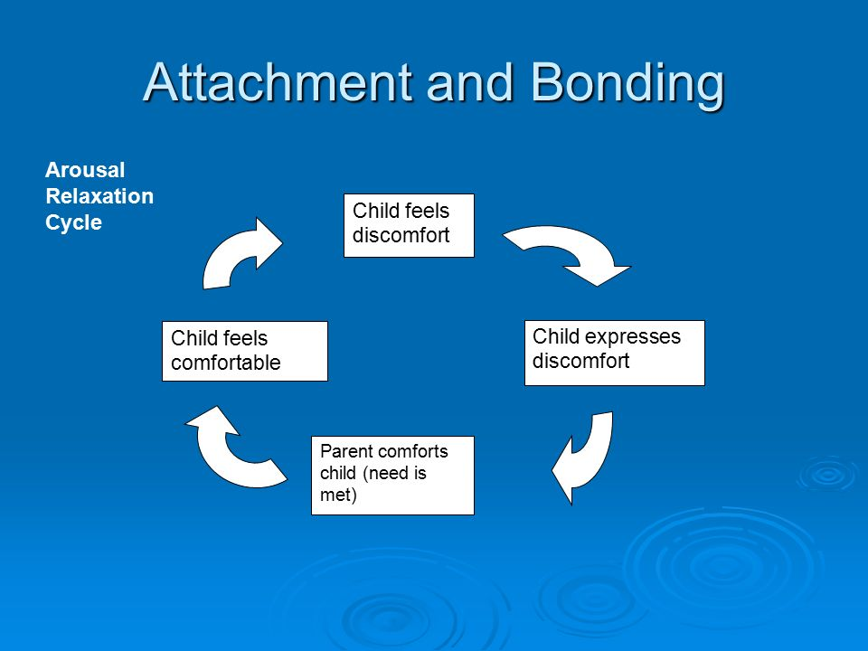 an analysis of childs attachment and bond with parents The effects of trauma on attachment the belief that the mother child (or caretaker) bond is the primary force in infant if the parent is unavailable or rejecting, the child can get lost in her own inner world and.