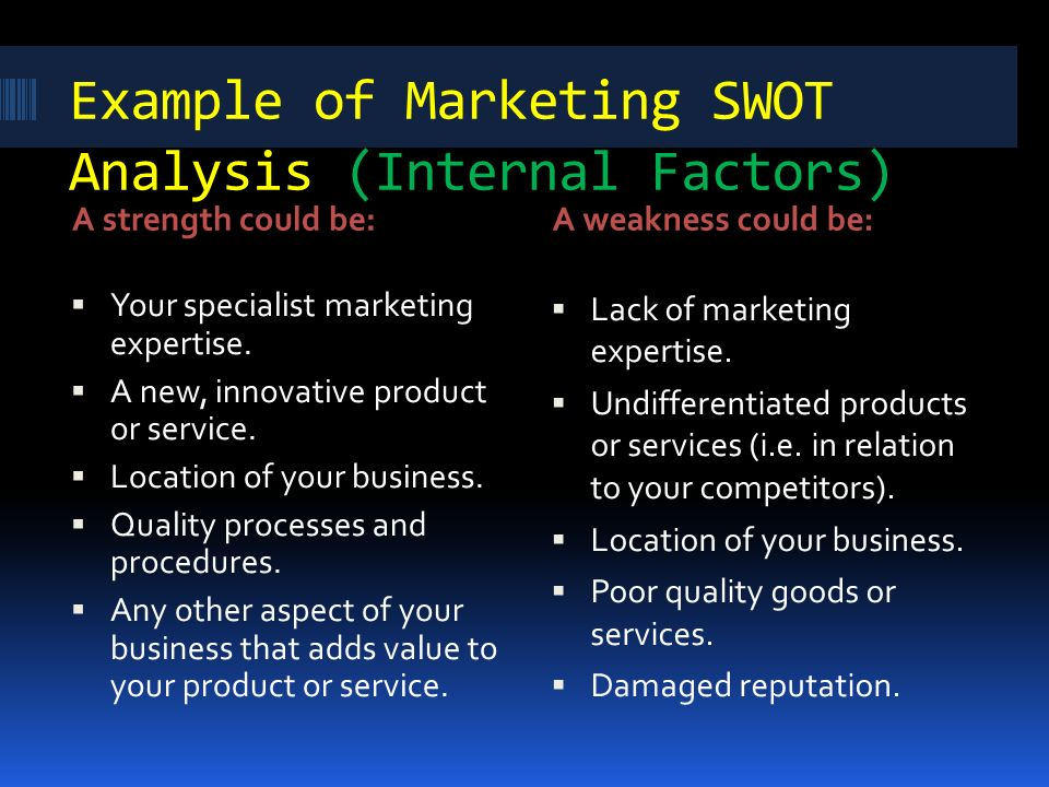 swot analysis in strategic management pdf