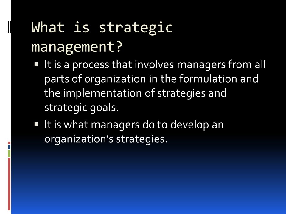 strategy implementation in strategic management pdf