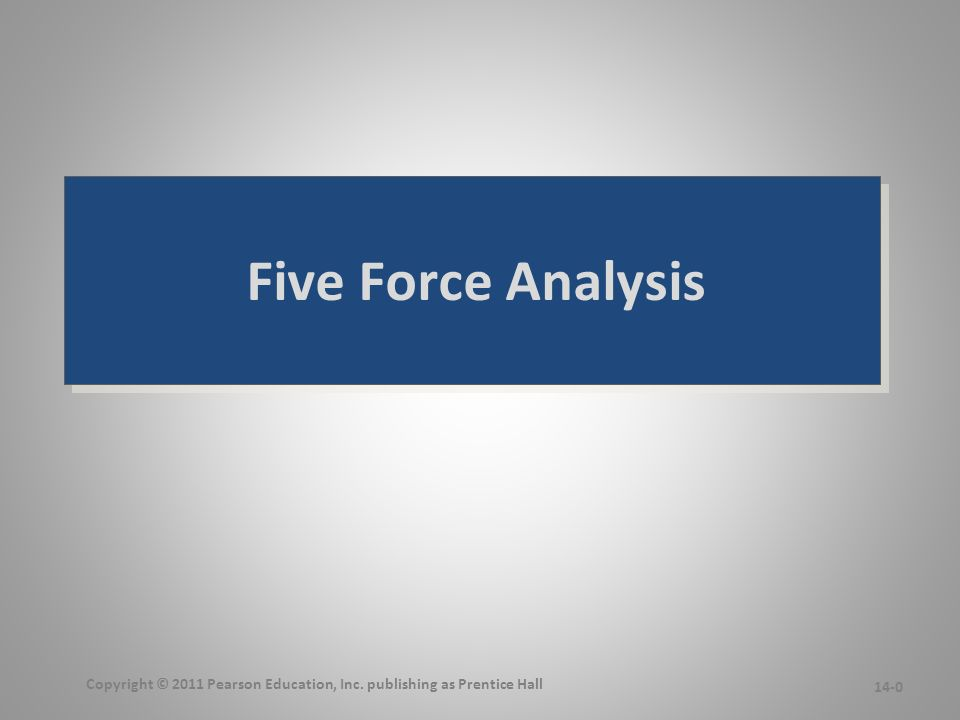 5 forces analysis of the video The five forces determine the competitive structure of an industry, and its profitability industry structure, together with a company's relative position within the industry, are the two basic drivers of company profitability.