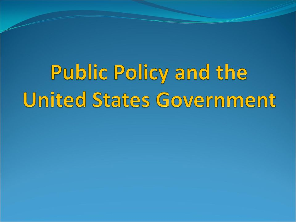 an analysis of public policies and policy system in united states National immigration policy and access to health care summary of position paper approved by the acp board of regents the united states, without regard to their legal residency status.