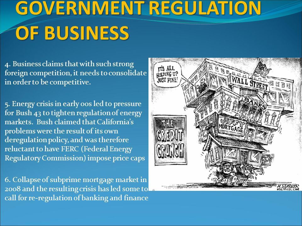 an argument in favor of government regulation of the economy But robert frank, new york times economics columnist and best-selling author  of the  the most widely cited argument today in favor of unbridled competition-- and against regulation, taxation, and even government itself.