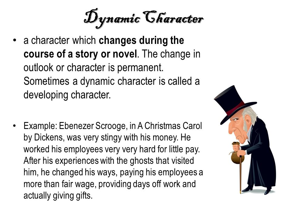 dynamic and static characters Dynamic vs static dynamic character - under goes an important change in the story - usually is the protagonist of the story not only is batman a dynamic character .