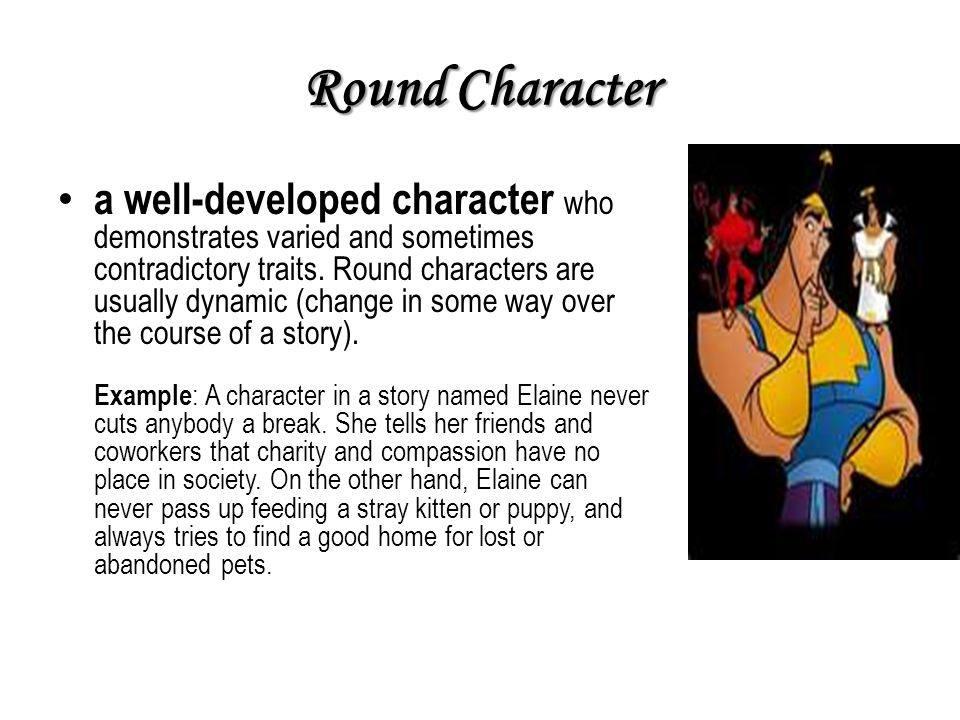 Round Character Example] Round Character Example Example Of A Round ...