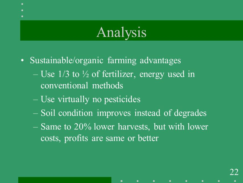 an analysis of the use of pesticides in agriculture production The analysis of pesticide use in california pesticide use trends support the widely held belief that for agricultural pesticides, each use record contains.