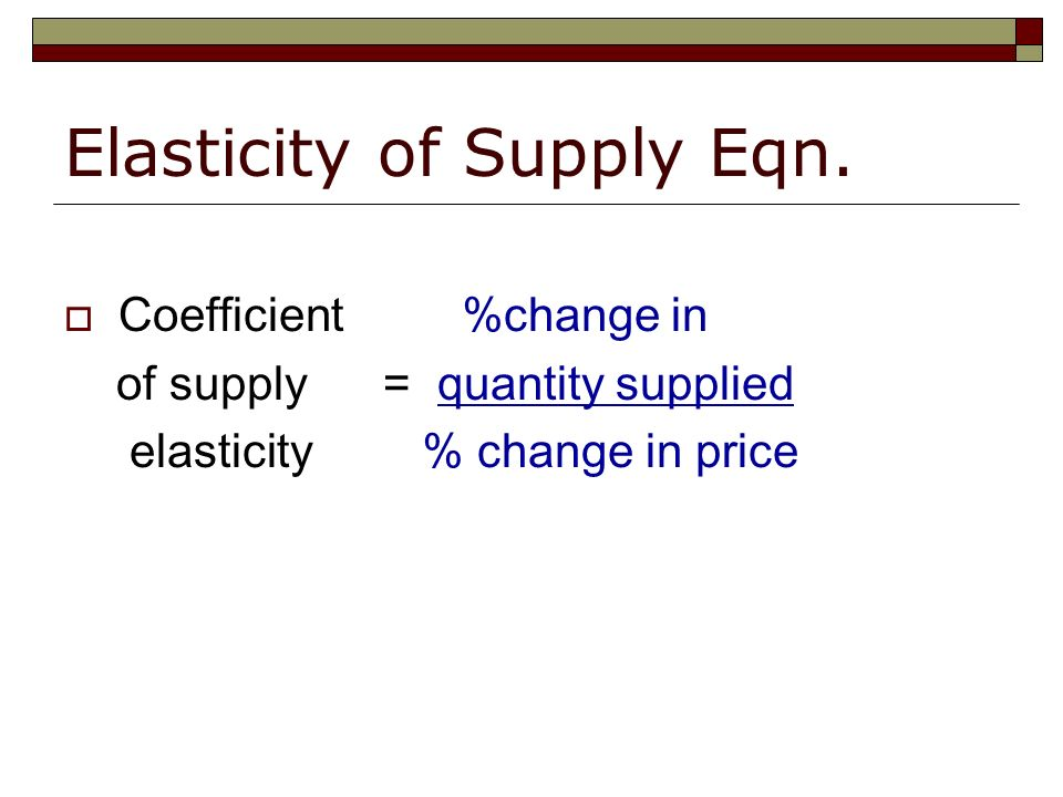 factors that affect the price elasticity of supply Apart from price, there are several factors that influence the elasticity of demand  the elasticity of demand is a measure of sensitiveness of demand to the.