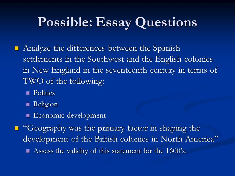 spanish colonization of america essay