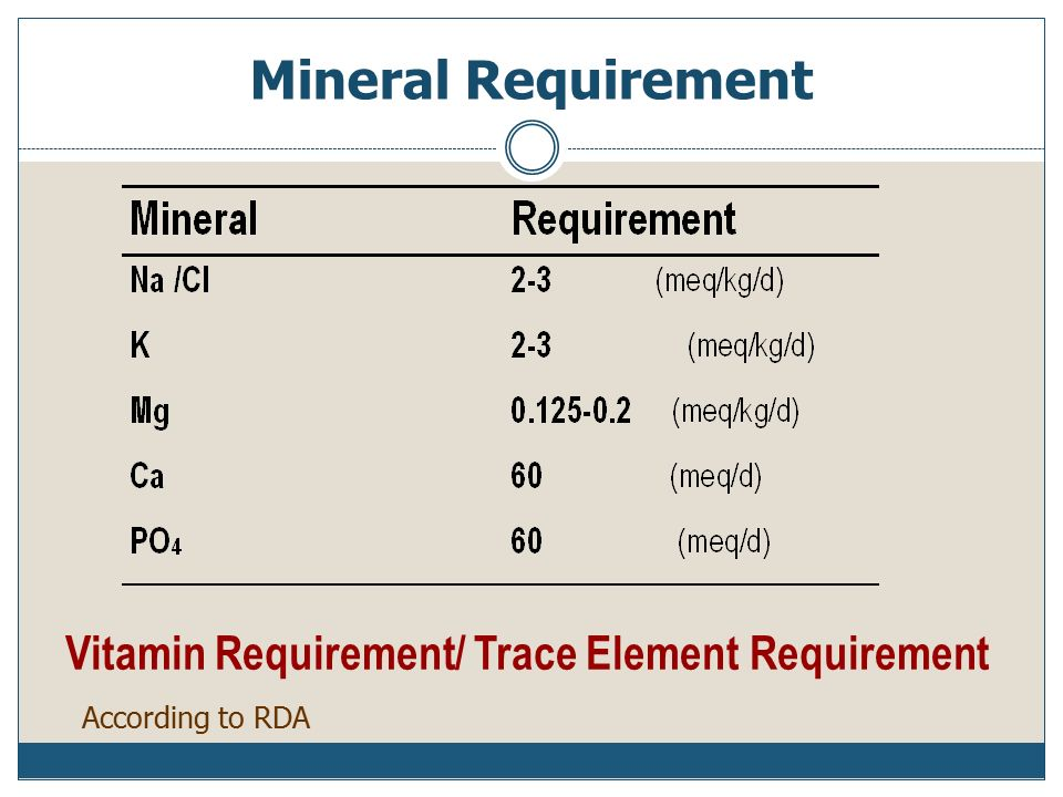 minerals and trace elements pdf