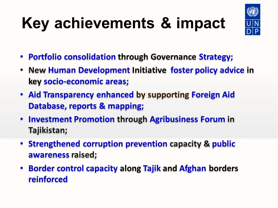 Key achievements and priorities - ppt download
