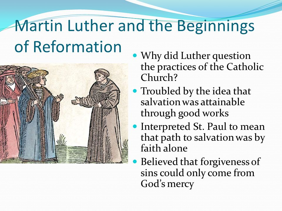 the early life and reformation of martin luther Martin luther of the reformation unit study the martin luther unit study will give your middle and high school students a firm grasp on the life and times of martin luther, father of the reformation.