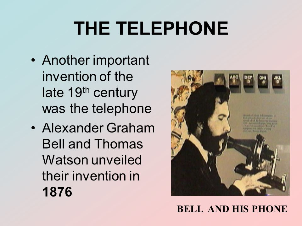 how did the invention of the telephone change the world The gutenberg press could not have revolutionised how we communicate without the invention of paper  the gutenberg press did change the world  the same decade that produced the telephone .