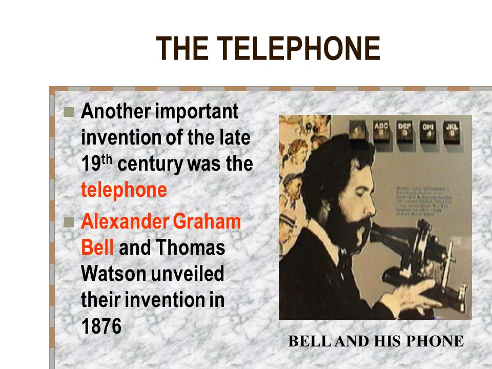 the significant contribution of alexander graham bell Alexander graham bell, who patented the telephone in 1876, inaugurating the   made significant progress in aircraft design and control and contributed to the.