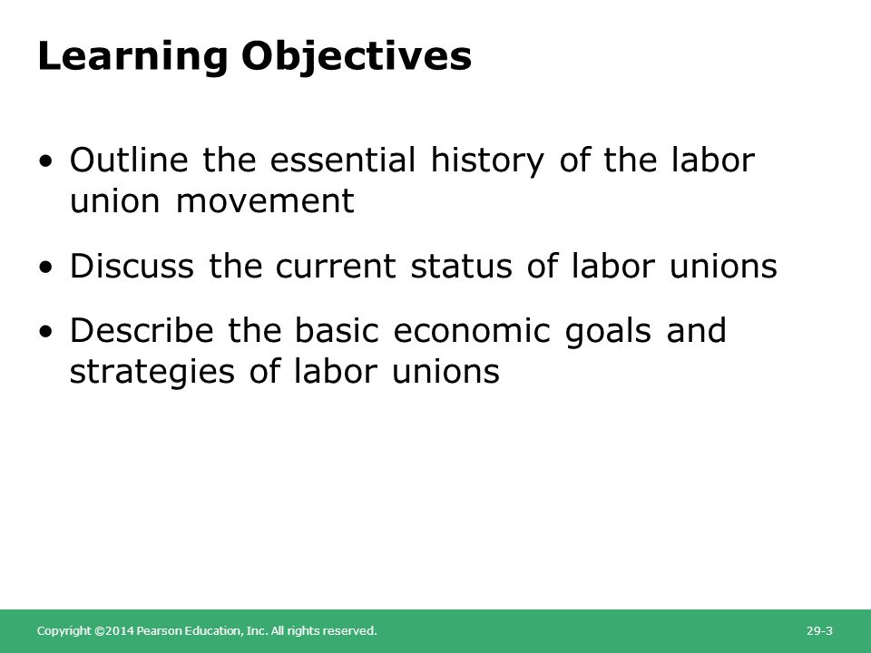 an analysis of the topic of the labor and the collective action of the labor unions Quizlet provides test hrm 152 labor activities the employee's action against an employee or group of employee hrm ch 11 labor unions and collective barganing.