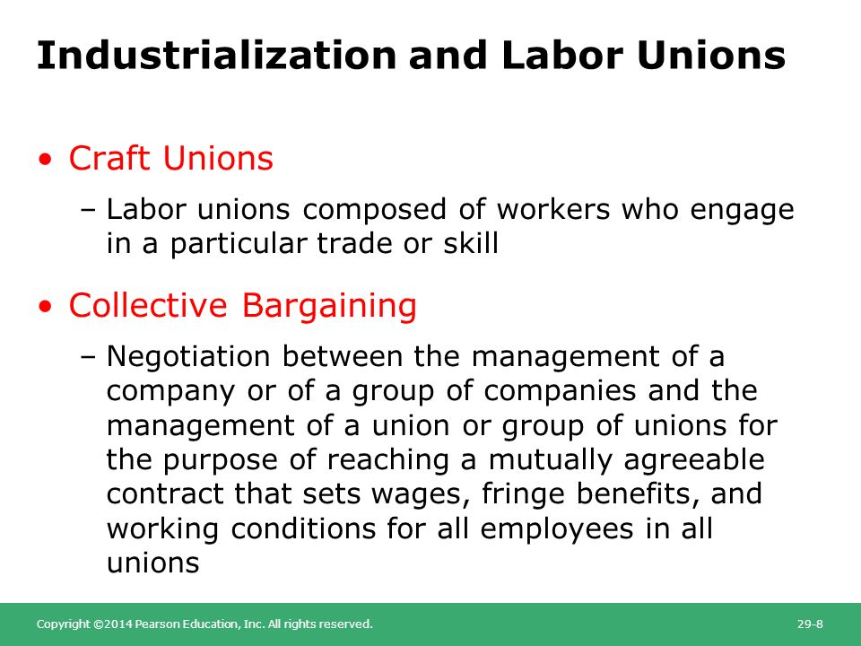 disadvantages of trade unions