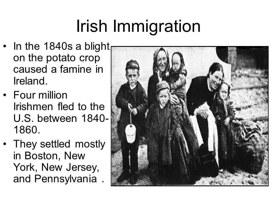irish migration between 1840 and 1860 Riots (1830s and 1840s) immigration (1790-1860) built 1846-64 during the rapid growth of catholic immigration the irish memorial.