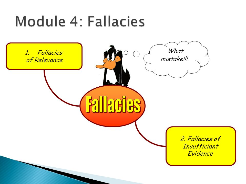 Critical thinking & Logical Fallacies