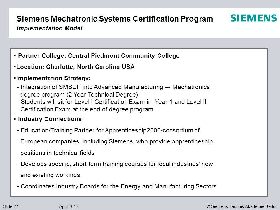 mechatronics degree