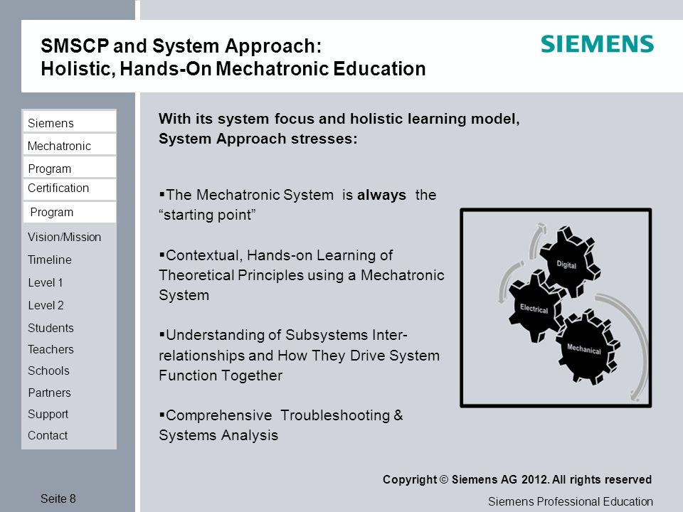 siemens technical education program pdf