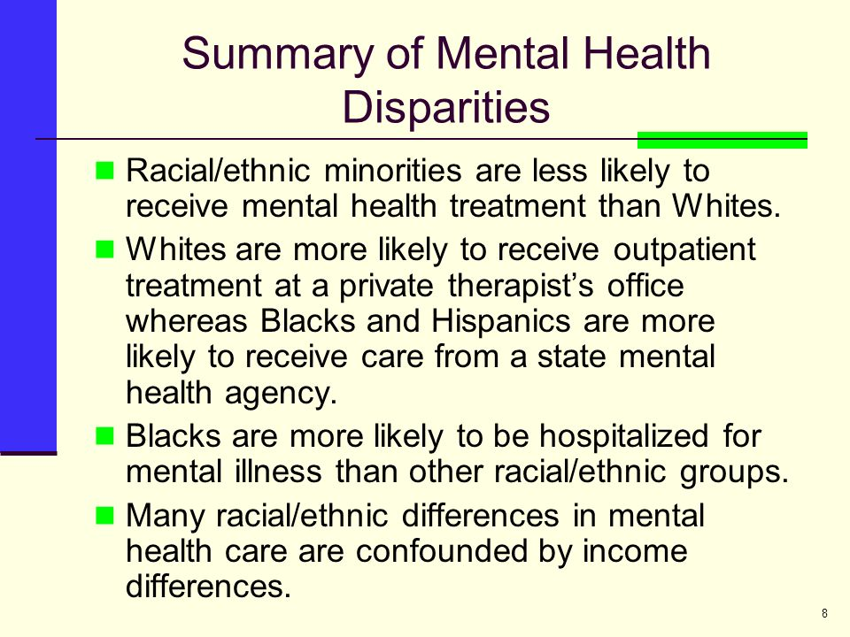 factors contributing to racial health disparities More information on racial/ethnic health disparities and related  internalized  racism, and various factors that contribute to race-associated.