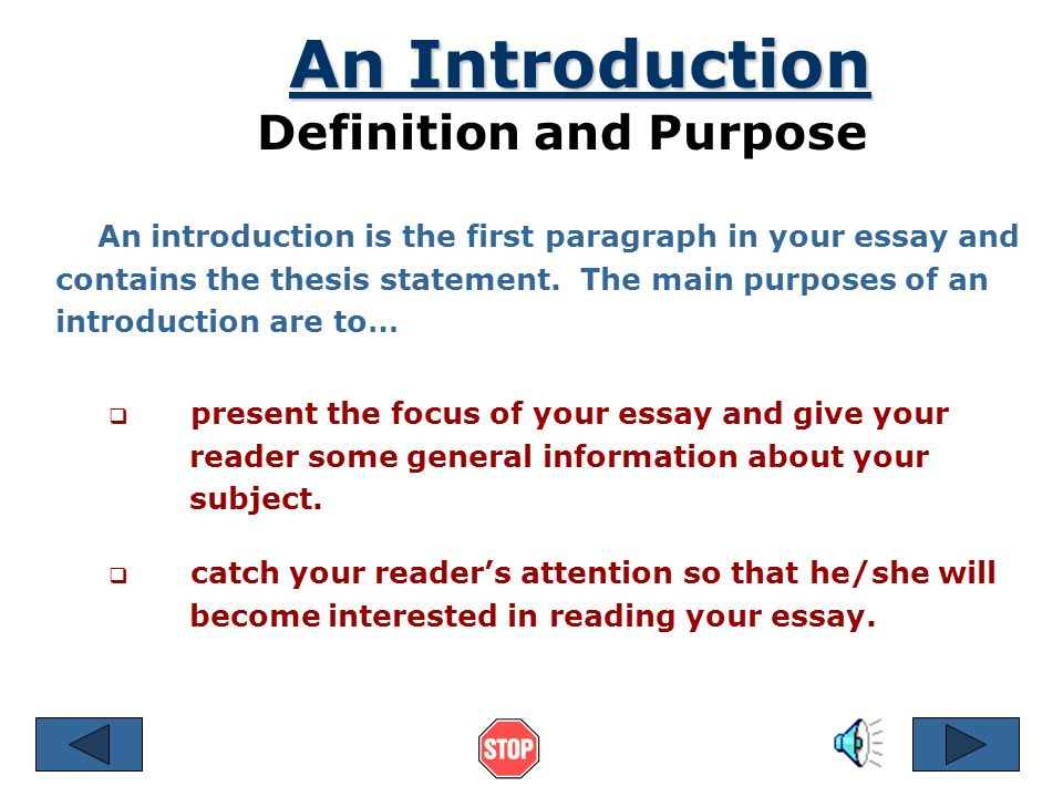 purpose of thesis statement in an essay A thesis statement is a short summary of the main idea, purpose, or argument of an essay that usually appears in the first paragraph it's generally only one or two.