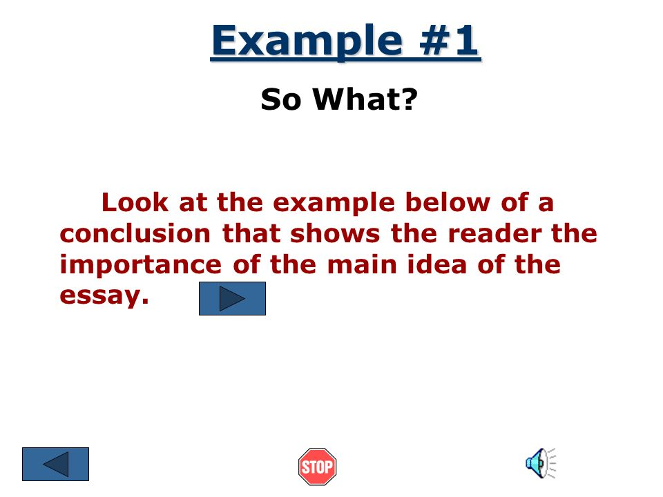 main idea writer discusses essay The purpose in writing an explanatory essay is not to argue a particular point your thesis is the main idea that you want to present in your synthesis.