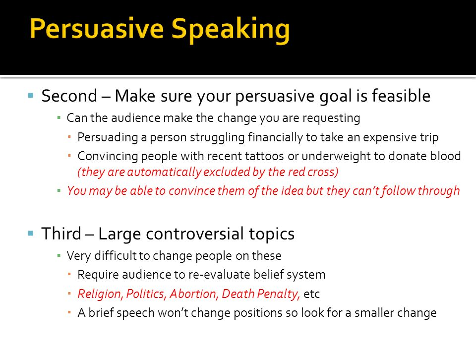 persuasive speech about college