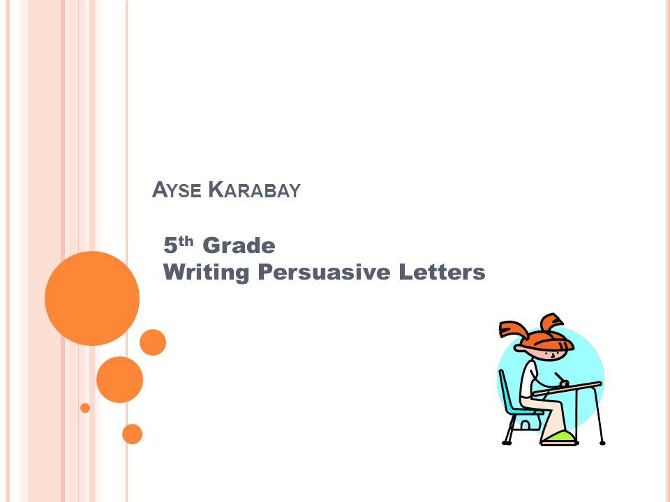 5th grade persuasive essays 4th and 5th grade writing folder ©2013 berkeley county schools 4th & 5th grade writing folder 2 table of contents online writing sites.