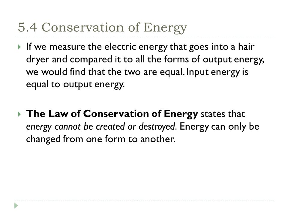 Chapter 5: Energy Conversions - ppt video online download