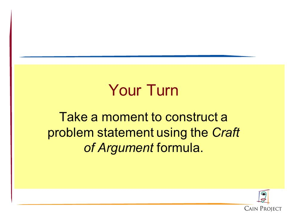 An introduction to the craft of argument ppt video for The craft of argument