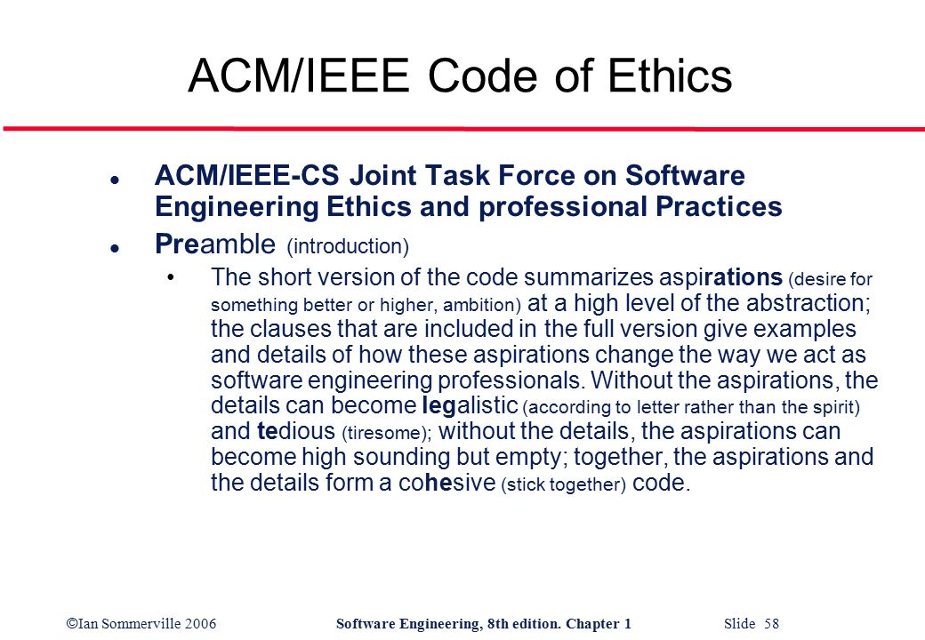 acm code of ethics Code 2018 project the current acm code of ethics and professional conduct (the code) was adopted in 1992 much has changed since then, and the code needs to be.