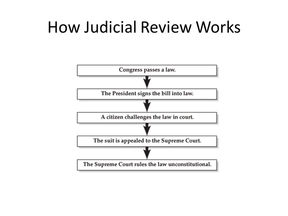 Judicial review in the United States