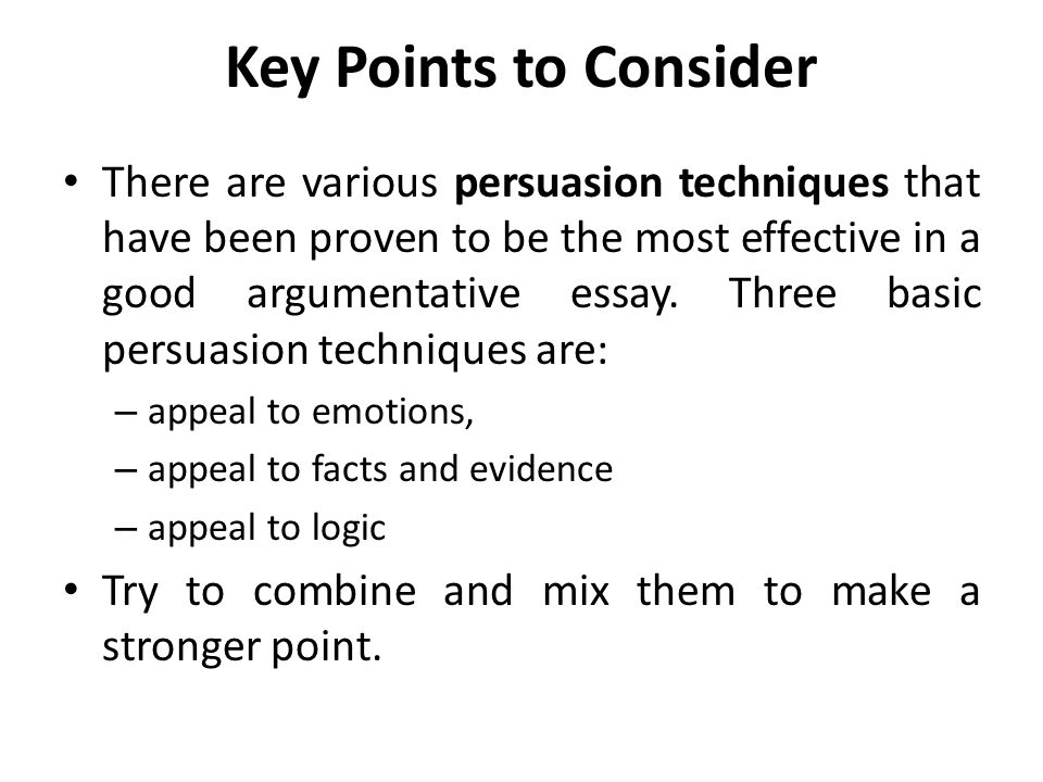 Essay writing prompts: identify key points