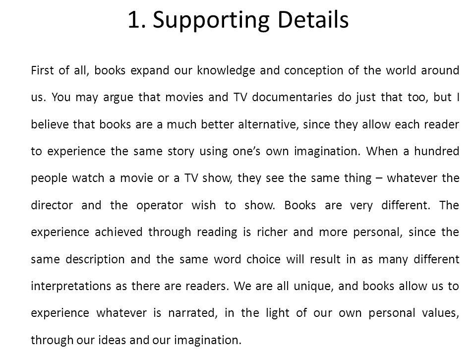Seeing is believing essay