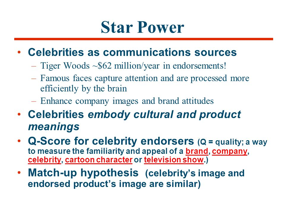 Celebrity endorsements: Influence of a product-endorser ...