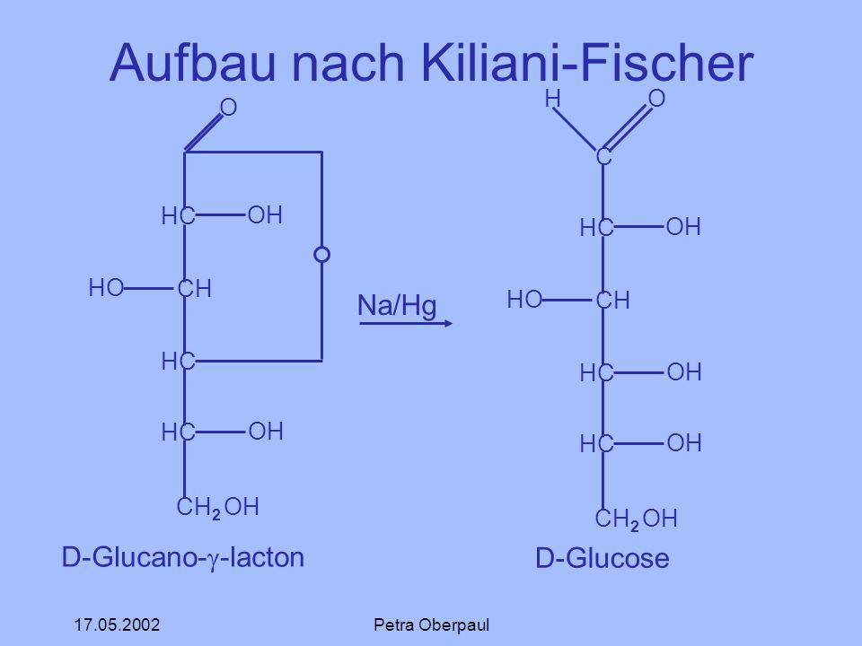 Aufbau nach Kiliani-Fischer