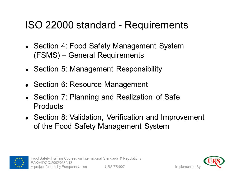 requirements for a new system