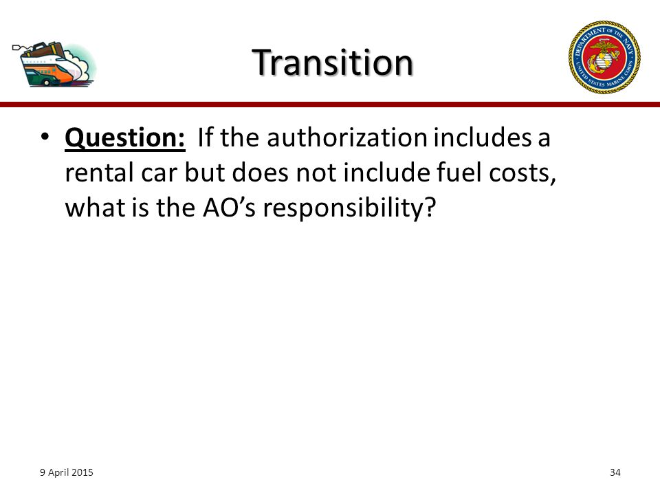 Introduction As an Authorizing Official AO you ppt download – Constructed Travel Cost-comparison Worksheet