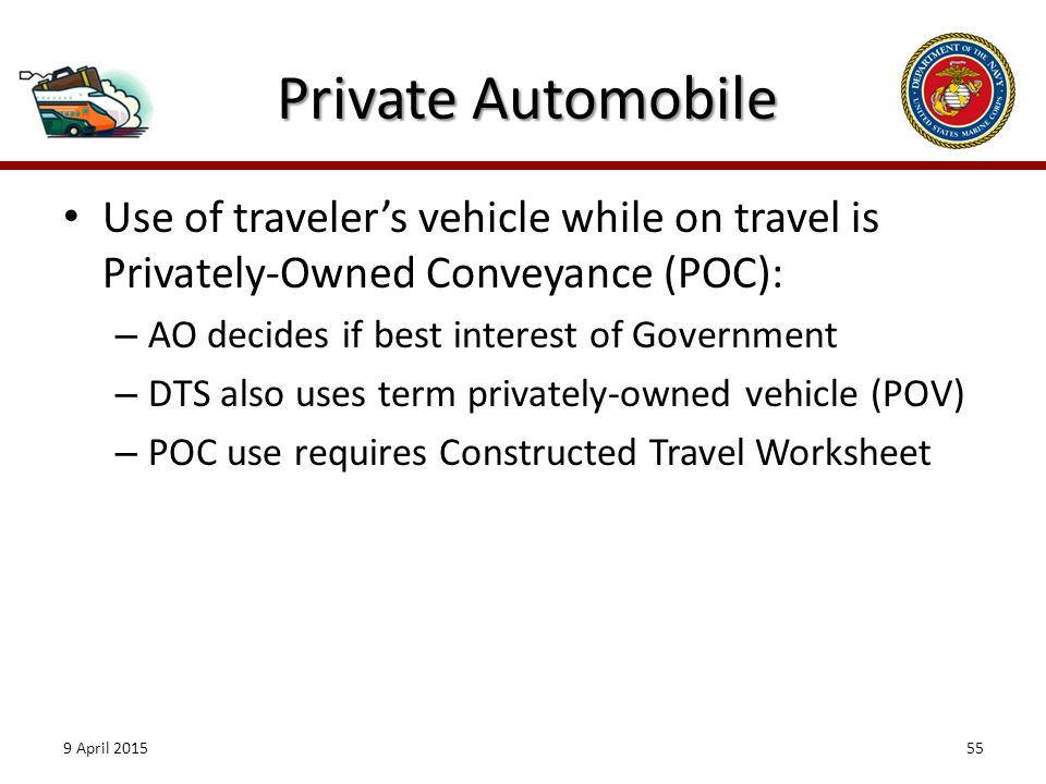 Introduction As an Authorizing Official AO you ppt download – Constructed Travel Worksheet Dts