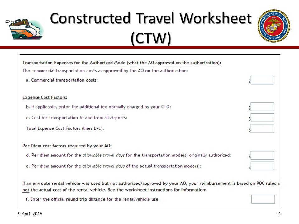 Introduction As an Authorizing Official AO you ppt download – Dts Travel Worksheet