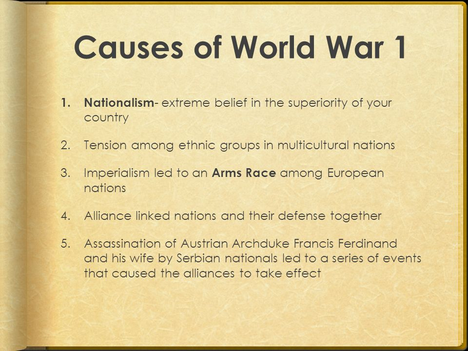 effects of world war i on
