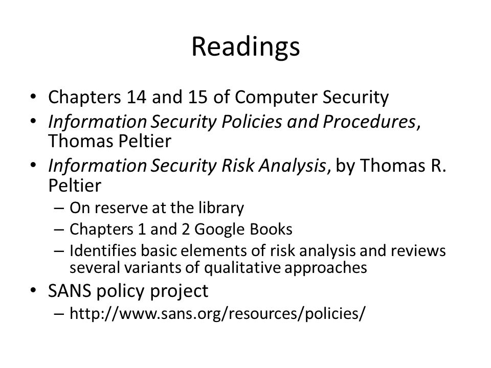 an analysis of the corporate security policies This policy defines security requirements that apply to the information assets of  the entire suny fredonia  to support business analysis and decision-making.