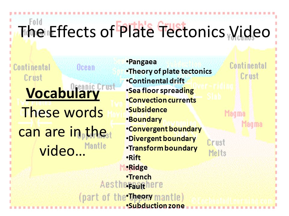 The impact of plate tectonics on