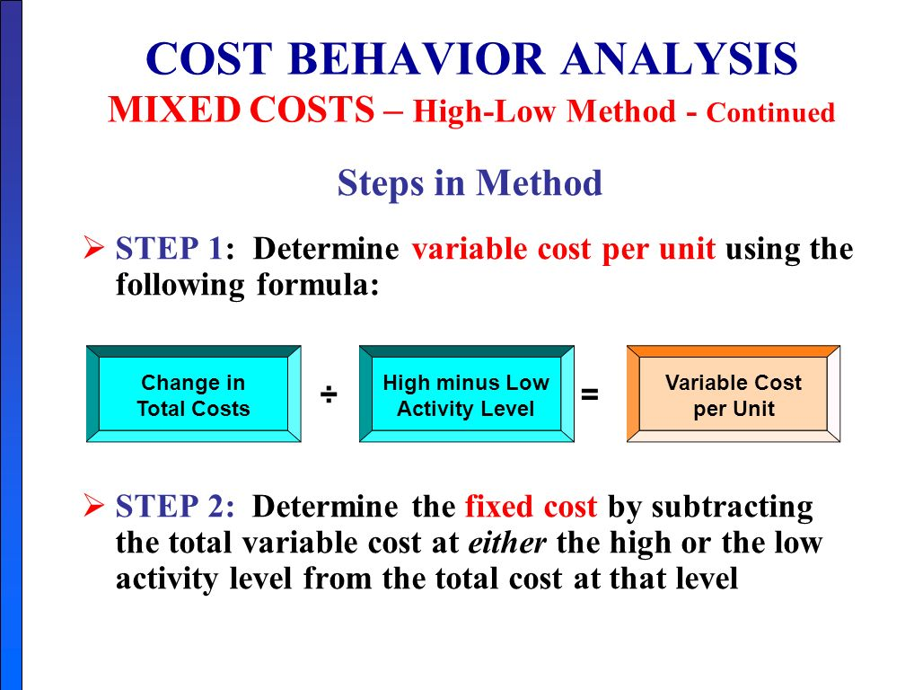 CHAPTER 5 COST – VOLUME - PROFIT Study Objectives - ppt ...