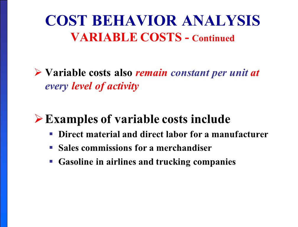 Chapter  Cost  Volume  Profit Study Objectives  Ppt Video Online